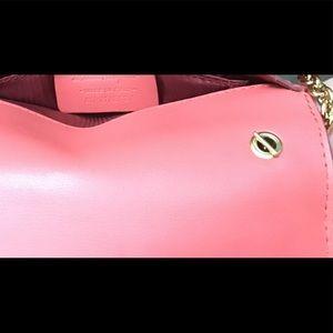 06a60a98e61d Salvatore Ferragamo Bags - Salvatore Ferragamo Ginny Mini Vara Flap Bag  Coral